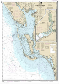 Nautical Chart of Sanibel Island