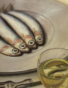 Painting - Anchovies
