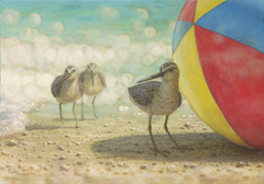 Painting - Beach Ball