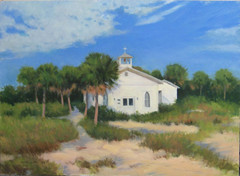 Painting - Chapel in the Sand